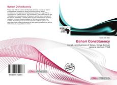 Portada del libro de Bahari Constituency