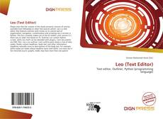 Couverture de Leo (Text Editor)