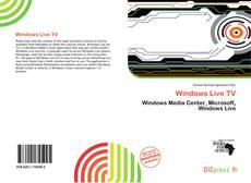 Bookcover of Windows Live TV