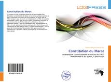 Buchcover von Constitution du Maroc