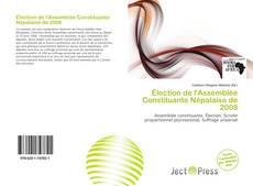 Bookcover of Élection de l'Assemblée Constituante Népalaise de 2008