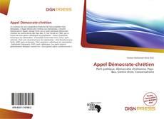 Bookcover of Appel Démocrate-chrétien