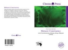 Buchcover von Makueni Constituency