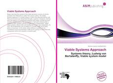 Bookcover of Viable Systems Approach