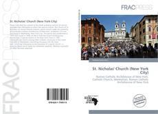 St. Nicholas' Church (New York City) kitap kapağı