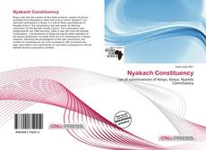 Bookcover of Nyakach Constituency