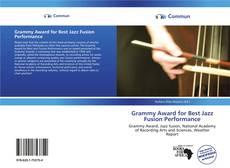 Copertina di Grammy Award for Best Jazz Fusion Performance
