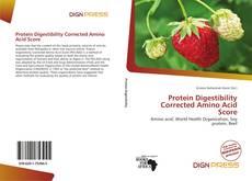 Protein Digestibility Corrected Amino Acid Score kitap kapağı