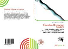 Bookcover of Stanislas d'Escayrac-Lauture