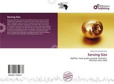 Buchcover von Serving Size