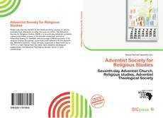 Bookcover of Adventist Society for Religious Studies
