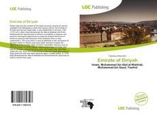 Bookcover of Emirate of Diriyah