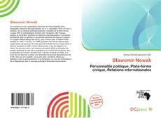 Sławomir Nowak kitap kapağı