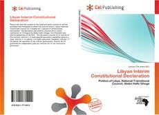 Borítókép a  Libyan Interim Constitutional Declaration - hoz