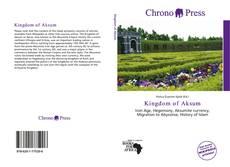 Bookcover of Kingdom of Aksum