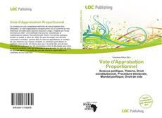 Couverture de Vote d'Approbation Proportionnel
