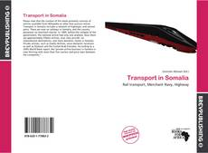 Capa do livro de Transport in Somalia