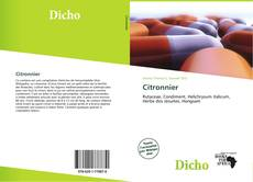Capa do livro de Citronnier