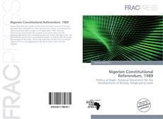 Couverture de Nigerien Constitutional Referendum, 1989