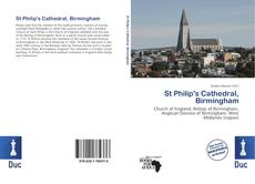 Bookcover of St Philip's Cathedral, Birmingham