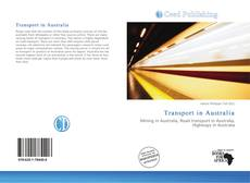 Bookcover of Transport in Australia