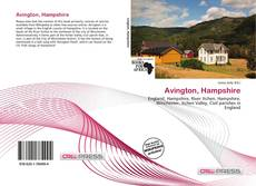 Buchcover von Avington, Hampshire