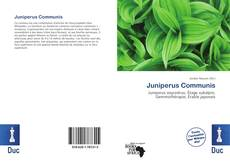 Capa do livro de Juniperus Communis