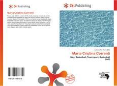 Maria Cristina Correnti kitap kapağı