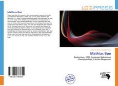 Bookcover of Mathias Boe