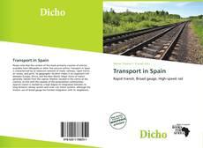 Обложка Transport in Spain