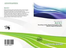 Bookcover of ALV X-1