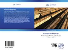 Bookcover of Distributed Power