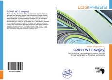 C/2011 W3 (Lovejoy)的封面