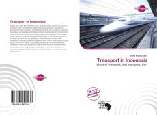 Capa do livro de Transport in Indonesia
