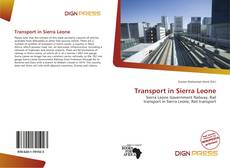 Capa do livro de Transport in Sierra Leone