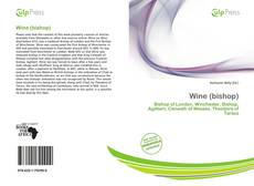 Bookcover of Wine (bishop)