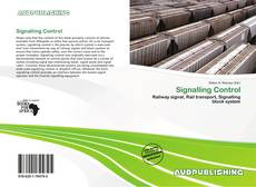 Bookcover of Signalling Control