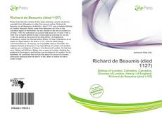Richard de Beaumis (died 1127) kitap kapağı