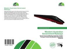 Portada del libro de Western Australian Government Railways