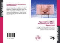 Appalachian State Mountaineers Men's Basketball kitap kapağı