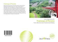 Capa do livro de Tramways of Panama