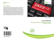 Couverture de Jazz (Word)