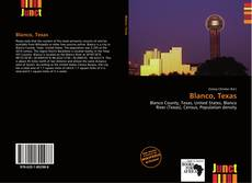 Blanco, Texas kitap kapağı