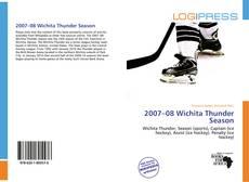Capa do livro de 2007–08 Wichita Thunder Season