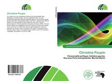 Couverture de Christine Poupin