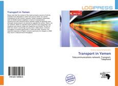 Bookcover of Transport in Yemen