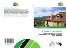 Bookcover of Frogham, Hampshire