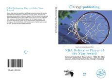Bookcover of NBA Defensive Player of the Year Award