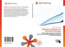 Portada del libro de Sabine Leutheusser-Schnarrenberger