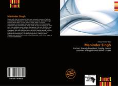 Buchcover von Maninder Singh